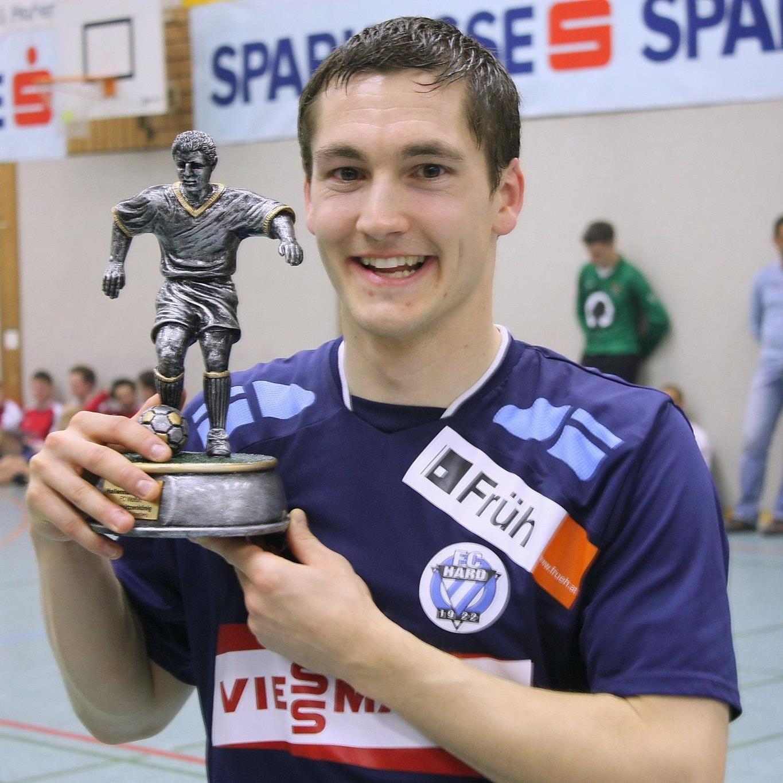 Vierfach-Torschützenkönig Thomas Beck spielt für Altach Amateure.