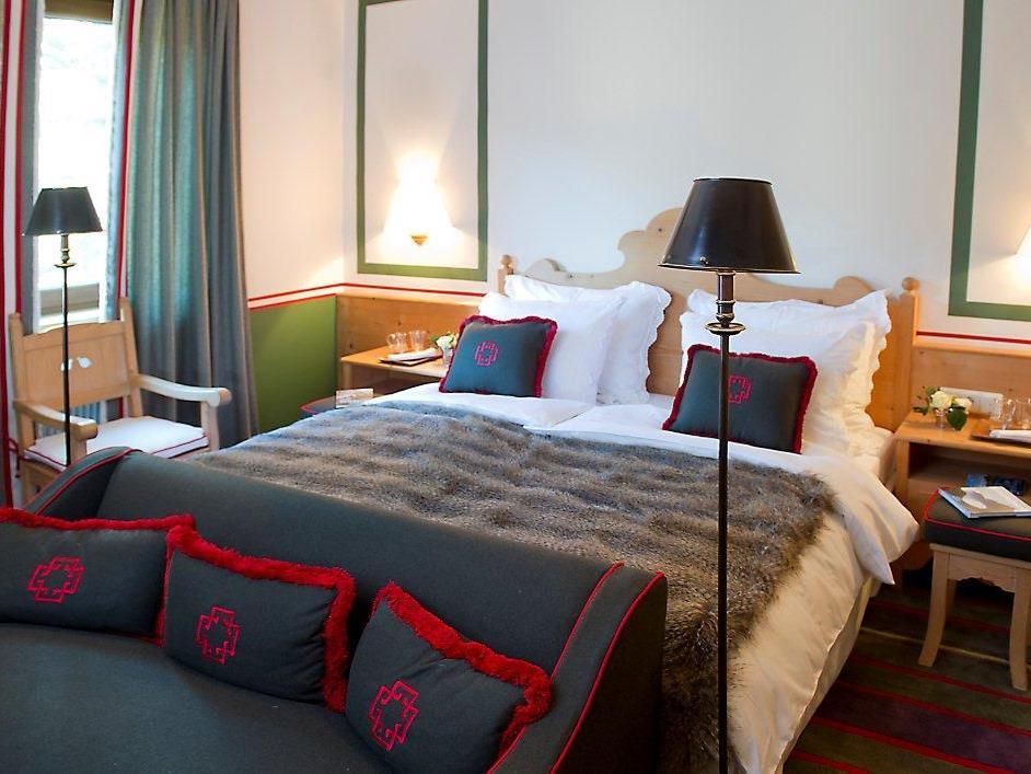 Ein Zimmer des 5-Sterne-Hotels.