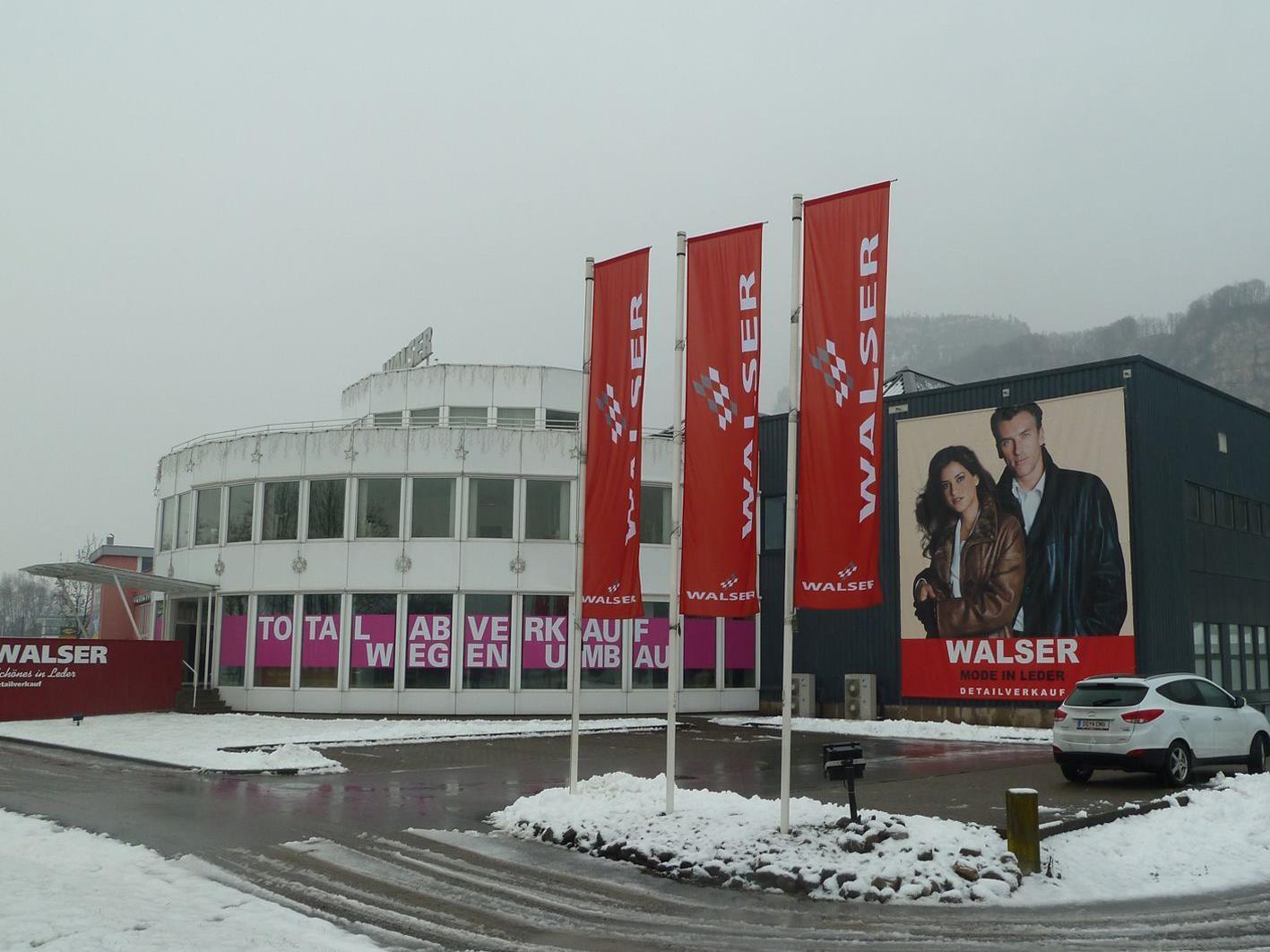 Der Hauptsitz des 1977 gegründeten Unternehmens Walser GmbH. in Hohenems.