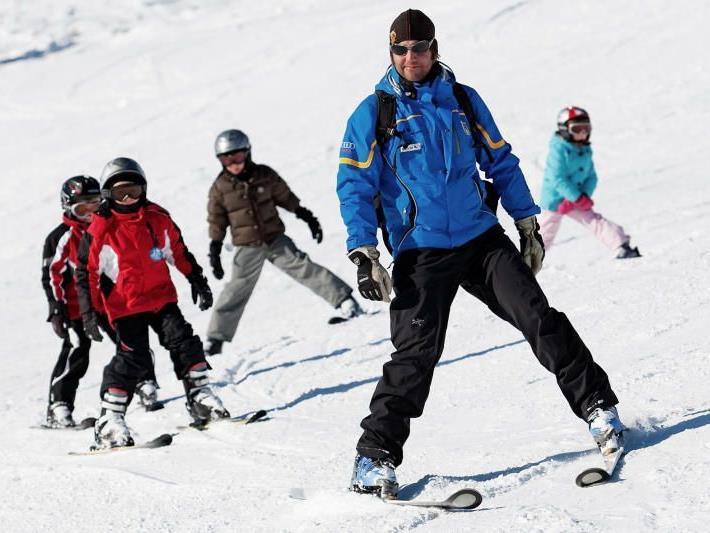 Das Angebot an Skikursen wird zurückgefahren.