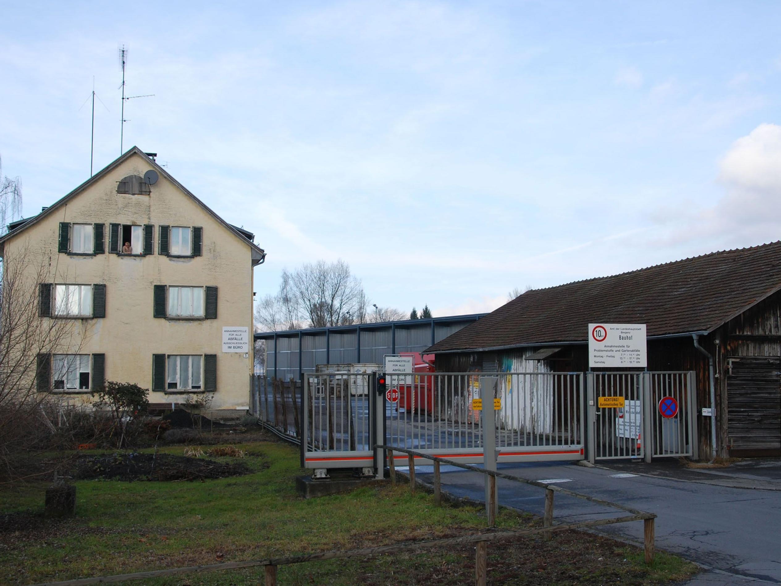 Am Bauhof in der Druckergasse entsteht das erste Bregenzer Bürgerkraftwerk.