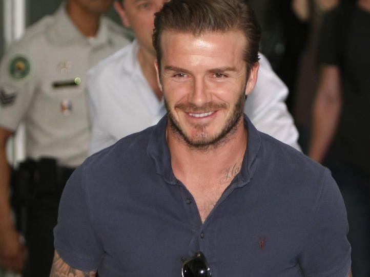 Fünfjahresvertrag Beckhams in LA läuft Ende Dezember aus.