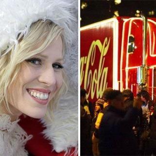Natascha Bedingfield in weihnachtlicher Mission.