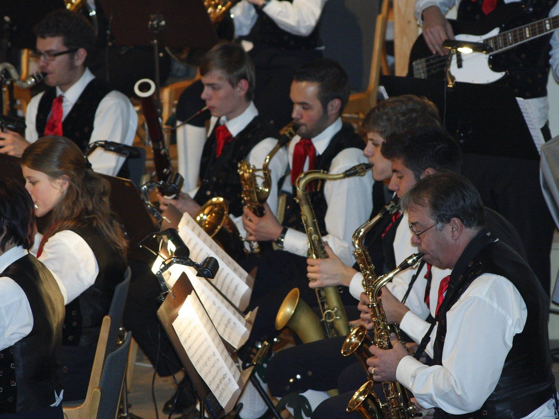 Die Stadtmusik begeisterte einmal mehr das Publikum.
