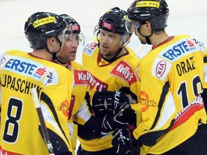 Auch gute Taktik half nicht: Die Wiener Capitals unterlagen in diesem Spiel.