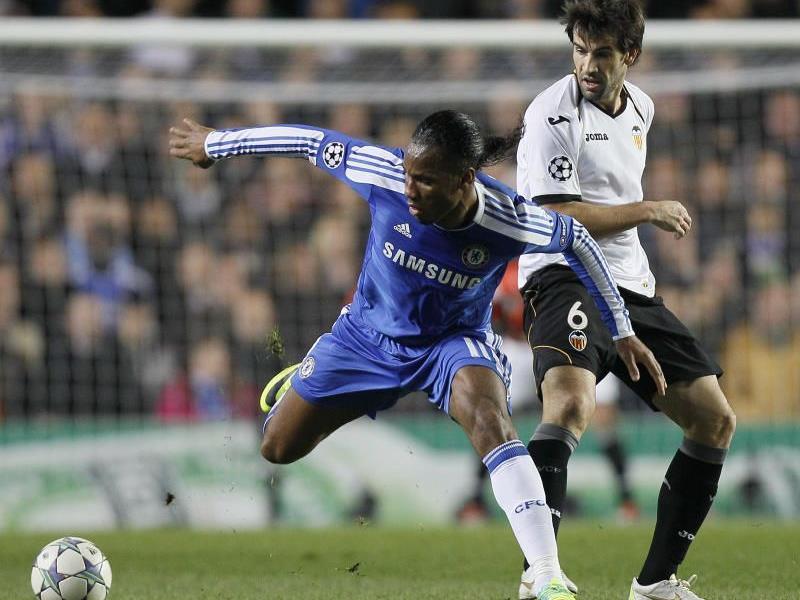Chelsea stürmte mit einem klaren 3:0-Heimerfolg über Valencia an die Spitze der Gruppe F
