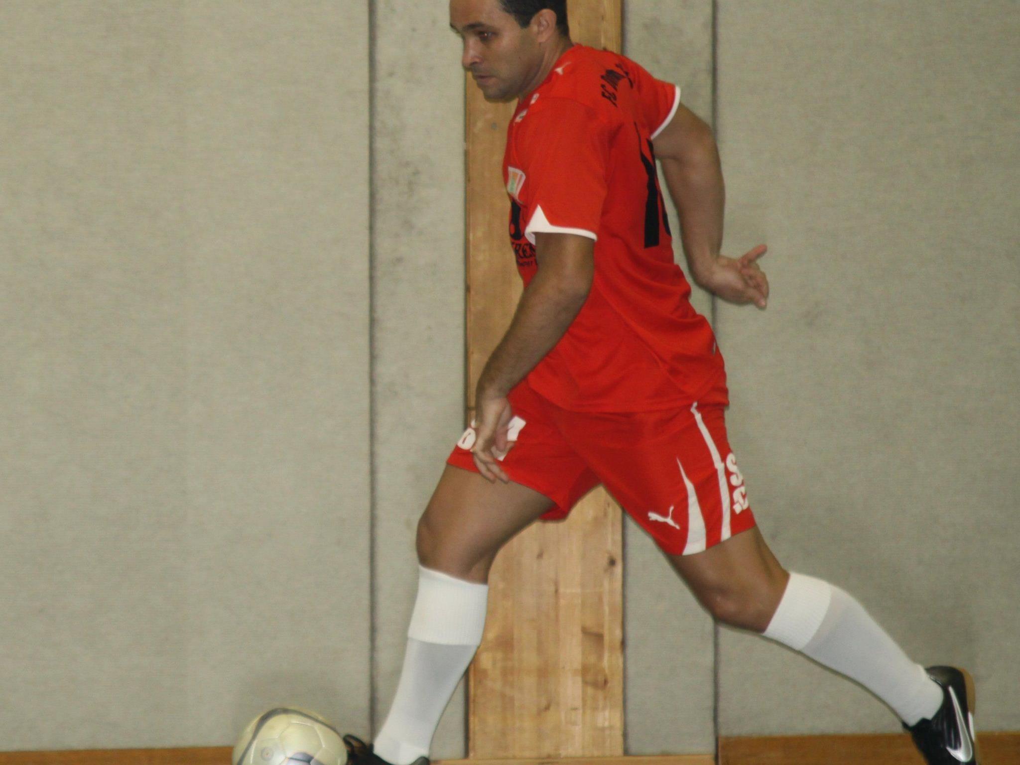 Reinaldo Ribeiro schoss drei Tore in Sonthofen, aber Dornbirn schied in der Vorrunde aus.