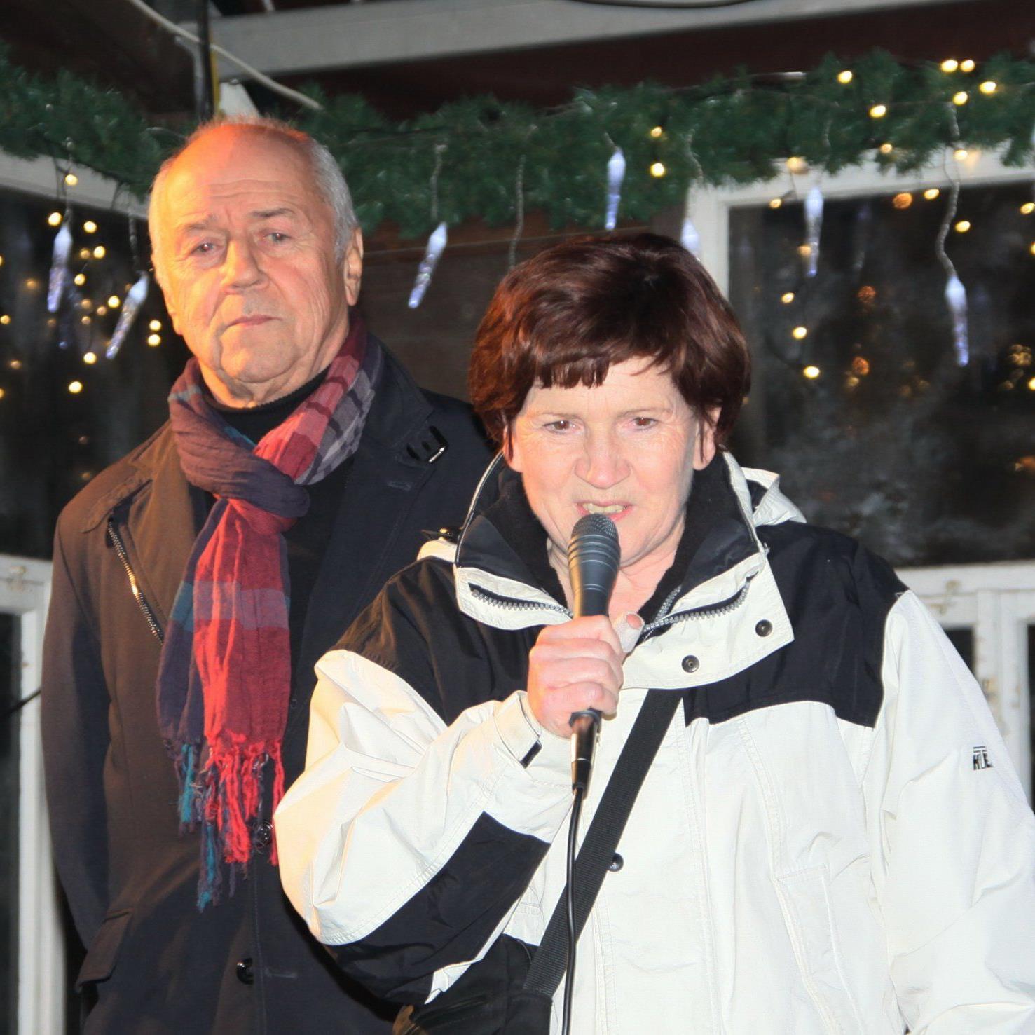 Sportstadträtin Marie Luise Hinterauer bedankte sich beim FC Mohren Dornbirn.