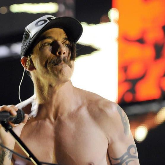 Der Frontmann der Red Hot Chili Peppers Anthony Kiedis in Wien.
