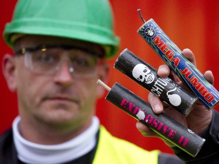 Experten warnen vor illegalen Feuerwerkskörpern.