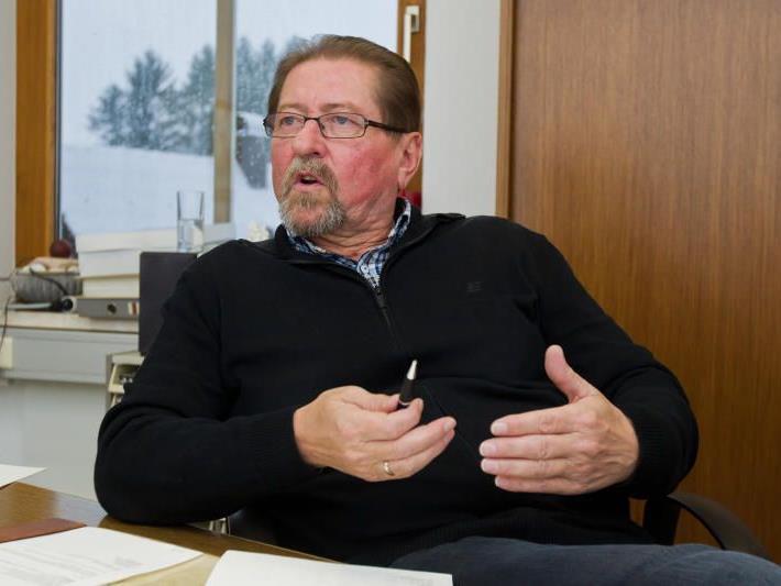 Werner Scheider, Bürgermeister Höchst.