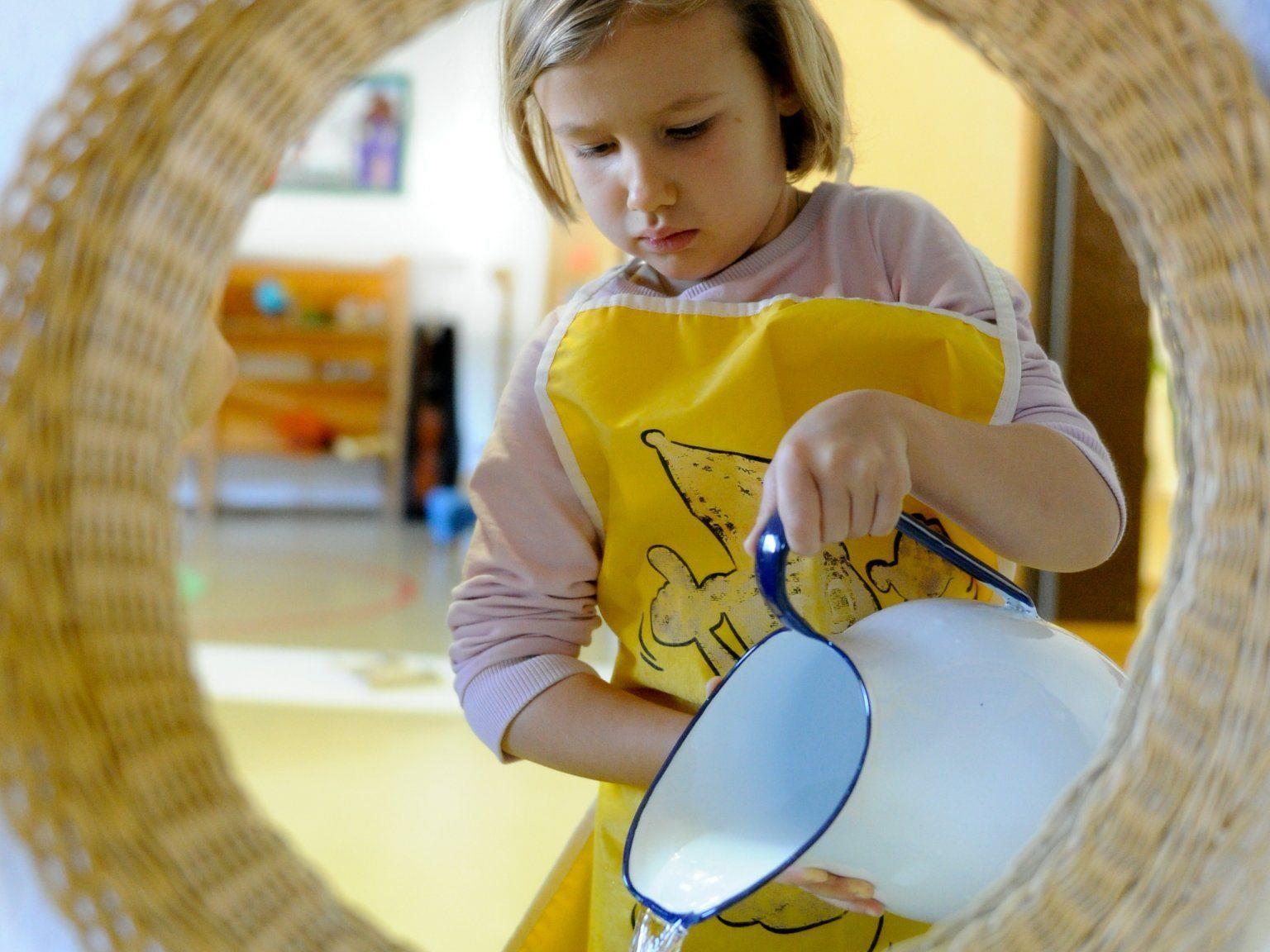 Einen Einblick in einen Montessorialltag gibt es für Interessierte in der Volksschule Ludesch.