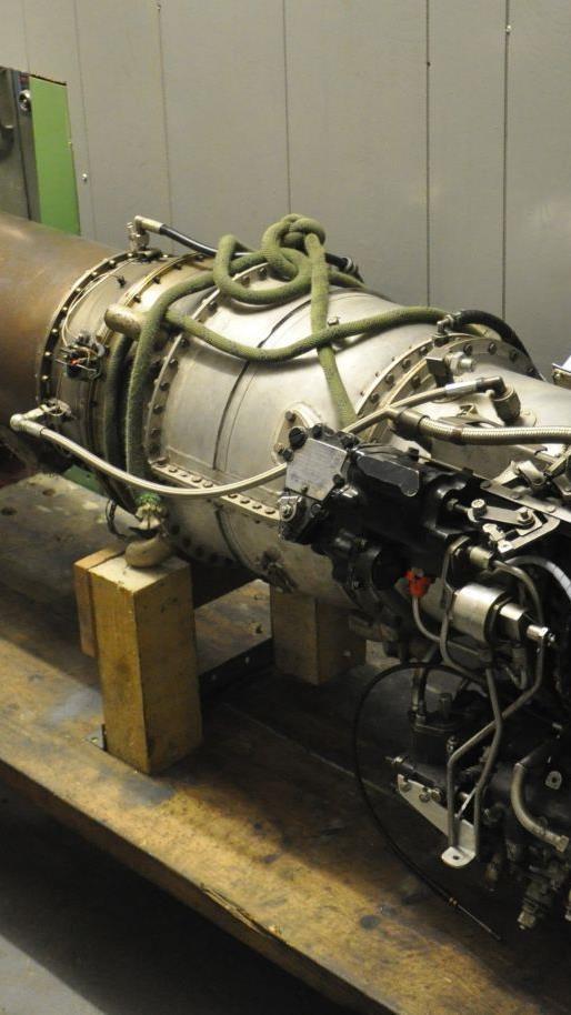Geballte Kraft: Das verbaute Düsentriebwerk hat 1.250 PS