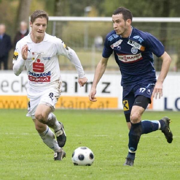 Wolfgang Kieber (l.) spielt wieder für Feldkirch.