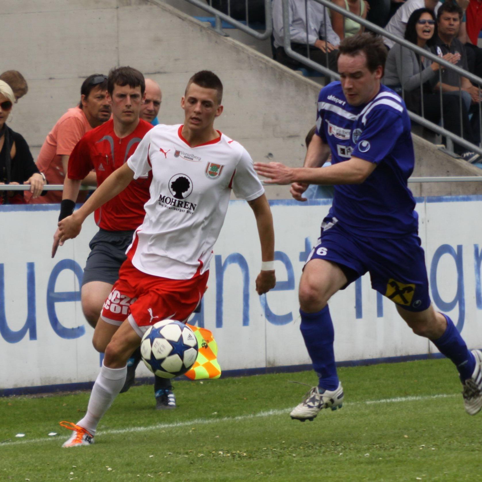 Daniel Krenn und sein Kollege Lukas Katnik spielen in Pasching.