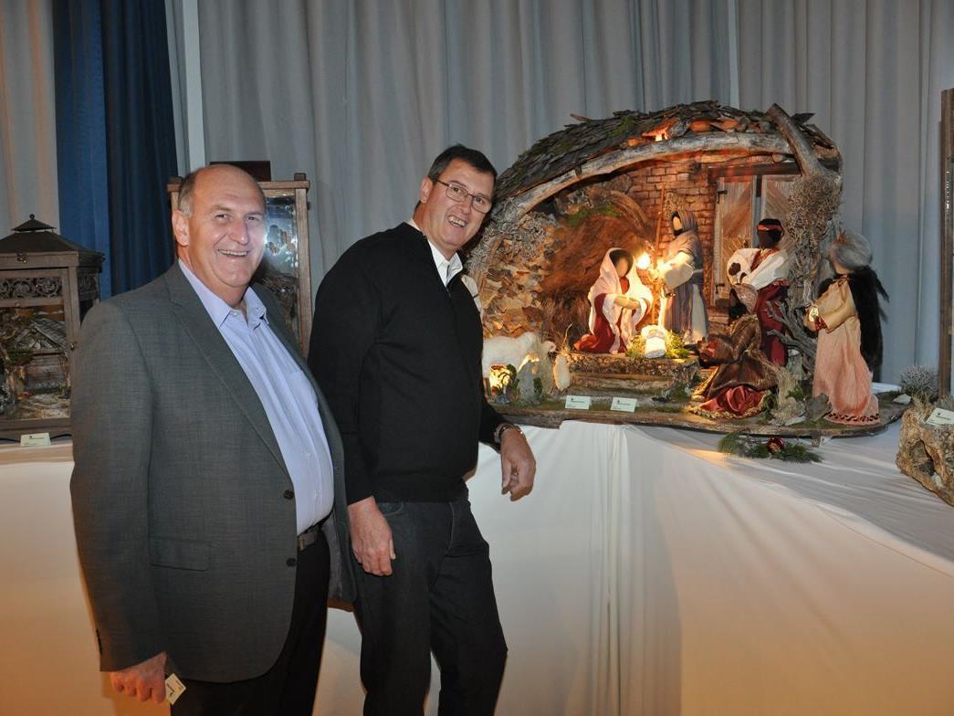 Es ist vollbracht! Obmann Gerhard Moser und sein Vize Harald Immler im Seezentrum.