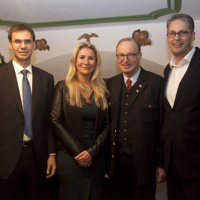 Mediengipfel wurde am Donnerstag in Lech eröffnet.