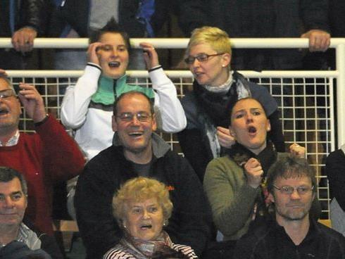 Ein Publikums-Hit: Das Fußball-Hallenmasters in Wolfurt.