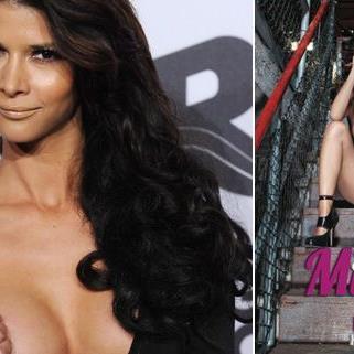 GNTM-Kandidatin Micaela Schäfer präsentiert ihren heißen Erotik-Kalender 2012.