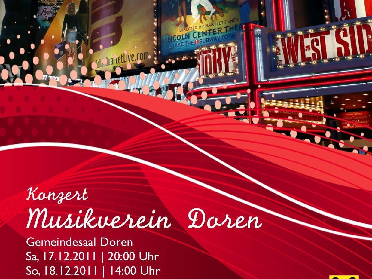 Der Musikverein Doren lädt zum Jahreskonzert