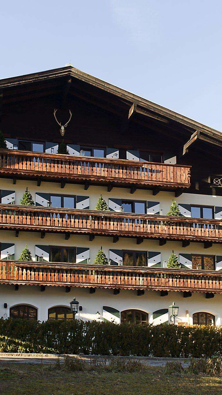 "Hotel ""Jagdgut Wachtelhof"" in Hinterthal"
