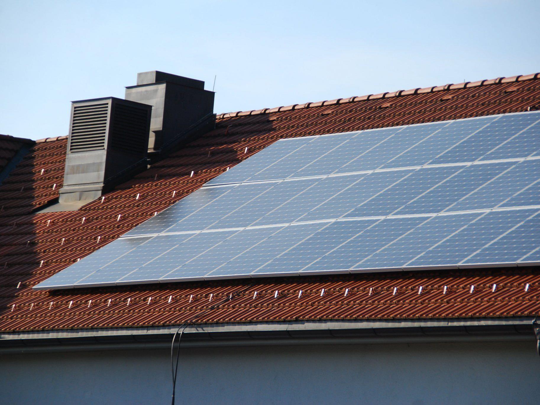 Den Bau von Solaranlagen förderte Bregenz heuer mit 40.000 Euro.