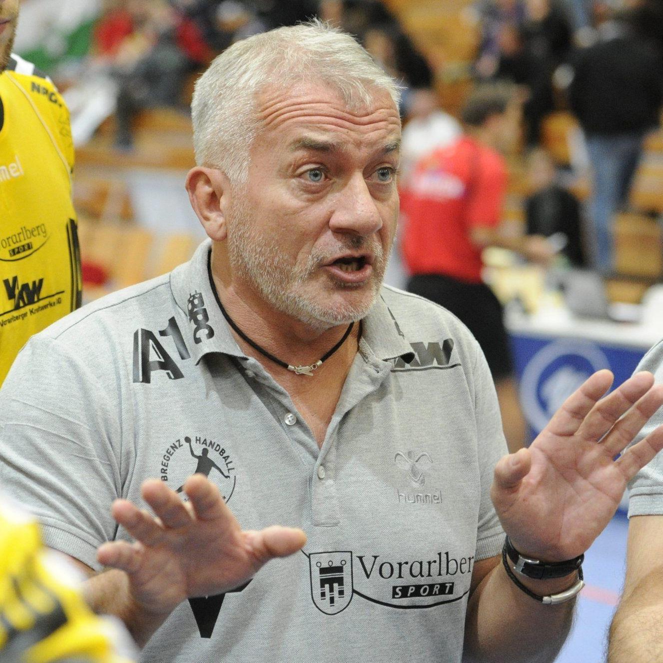 A1 Bregenz Trainer Martin Liptak