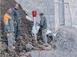 Auf der Schmitte sind die Arbeiten an der Wasserversorgung weitgehend abgeschlossen.