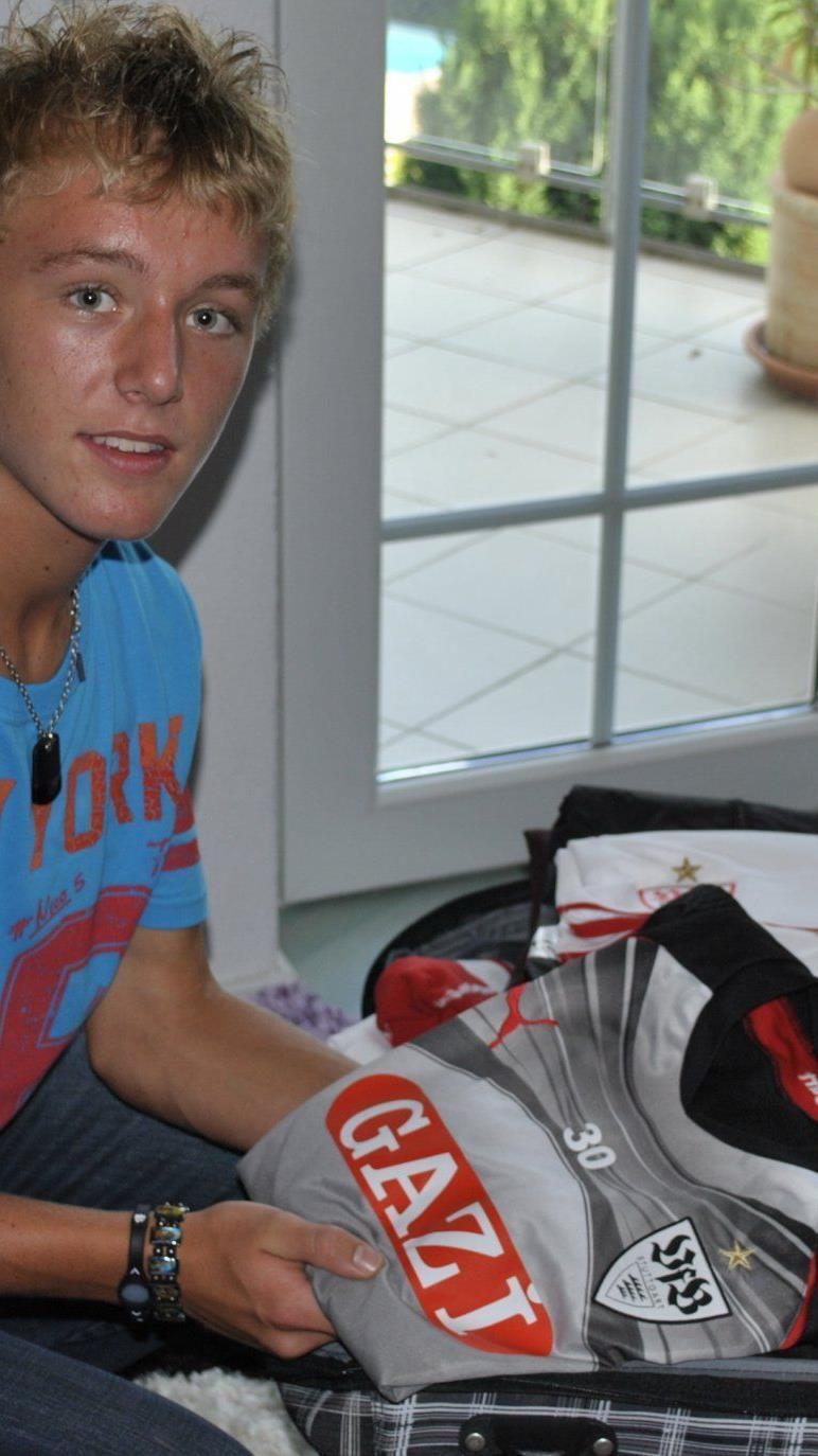 Der junge Dornbirner Fabian Gmeiner ist zu einem Führungsspieler in Stuttgart gereift.