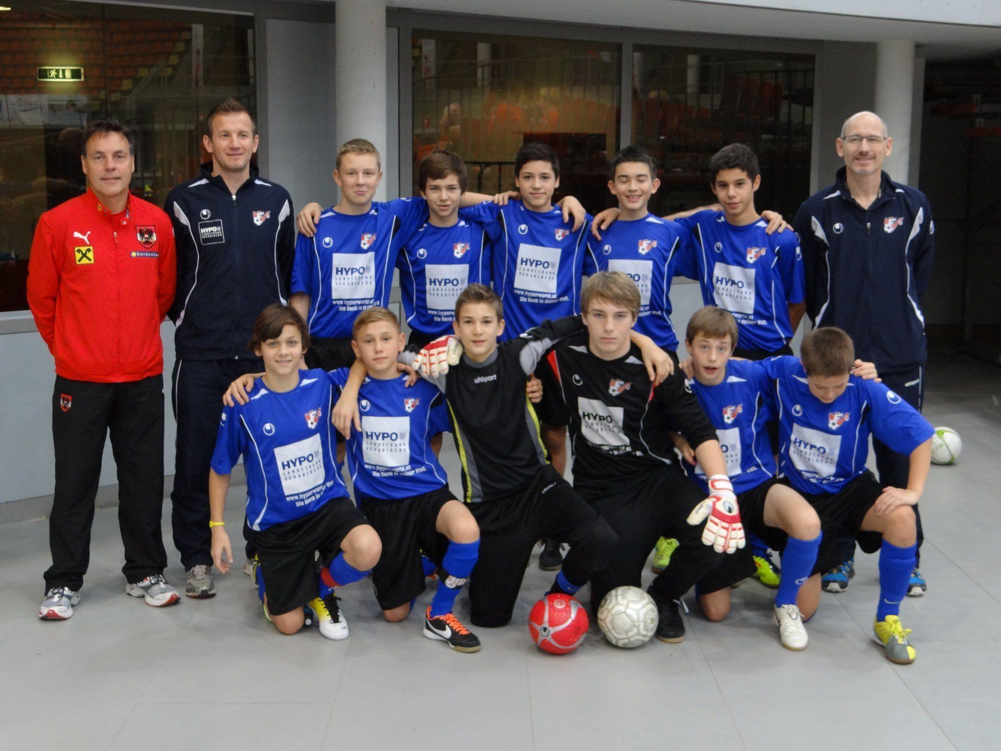 LAZ-Standorte Feldkirch und Bregenz beim Futsal-Turnier in Linz mit gutem Abschneiden.
