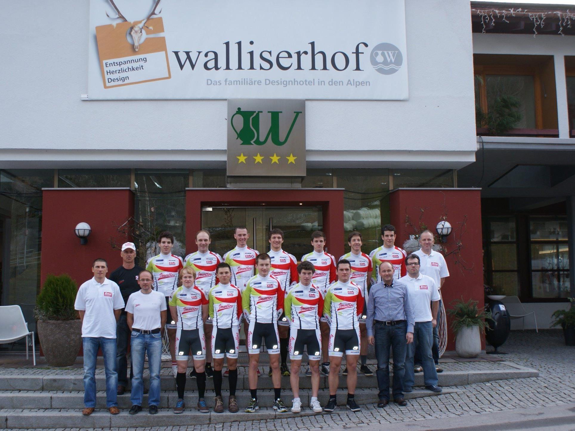 Team Vorarlberg ist derzeit im Walliserhof in Brand.