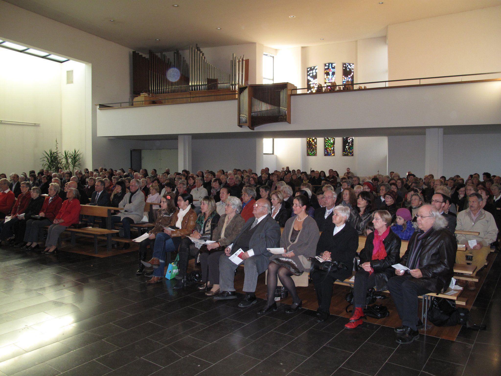 Volle Kirche auch beim 4. Benefizkonzert von ton-tisner orgel neu