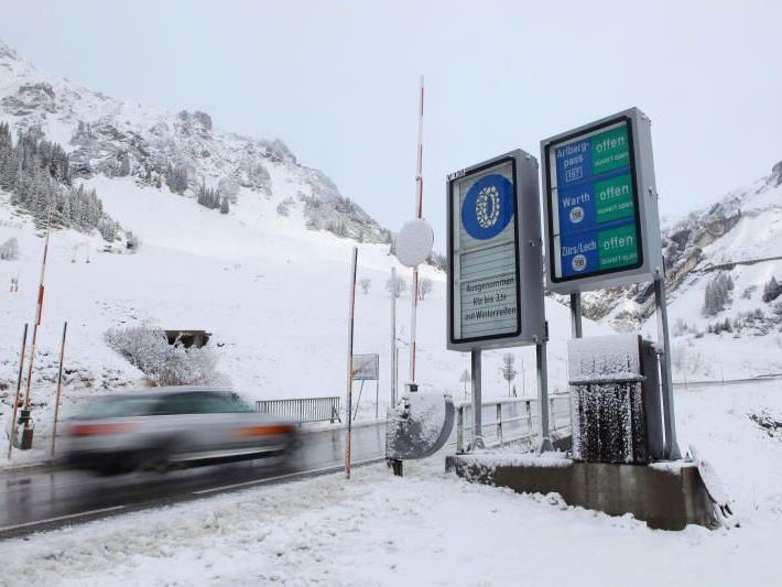 Auch in Stuben am Arlberg hinterließ der Winter seine Spuren.
