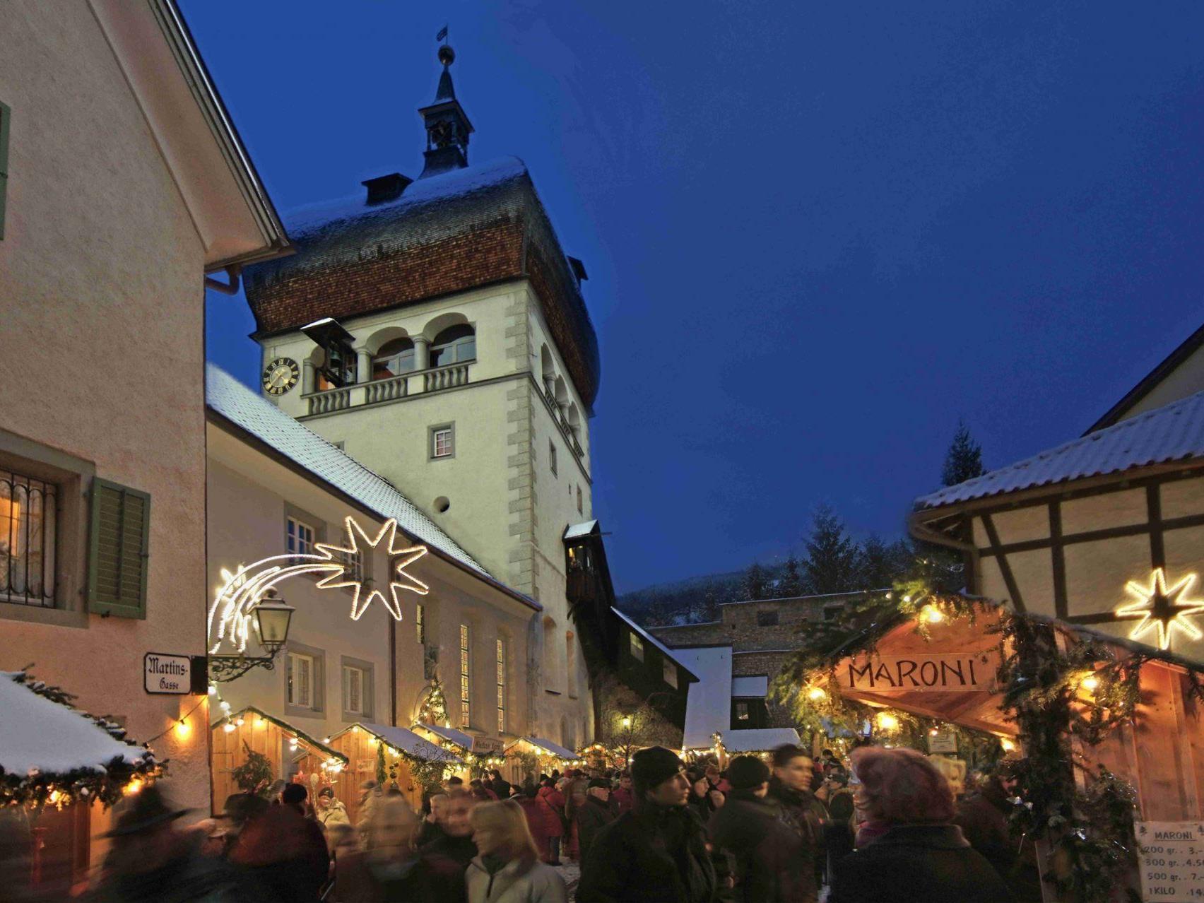 """""""Weihnachtsmärktle in der Bregenzer Oberstadt strtet wieder"""
