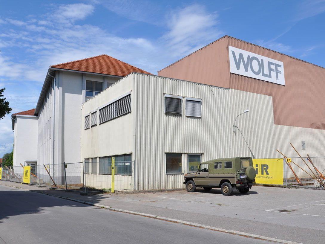 """Ob die Gemeinde sich im ehemaligen Wolff-Areal """"einkauft"""" steht am Mittwoch zur Abstimmung."""
