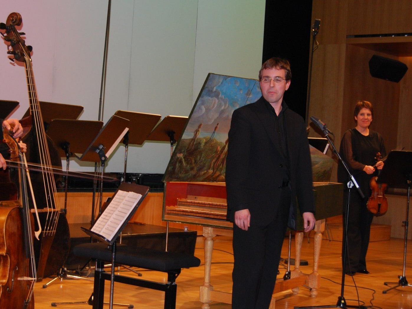 Johannes Hämmerle begeisterte als Cembalo-Solist.
