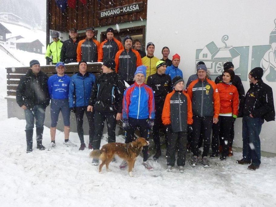 Die wetterfesten Bergläufer