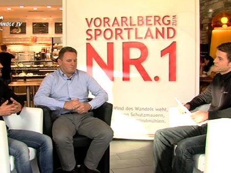 Simon Nussbaumer und Patrick Ortlieb im Gespräch mit Marc Gächter