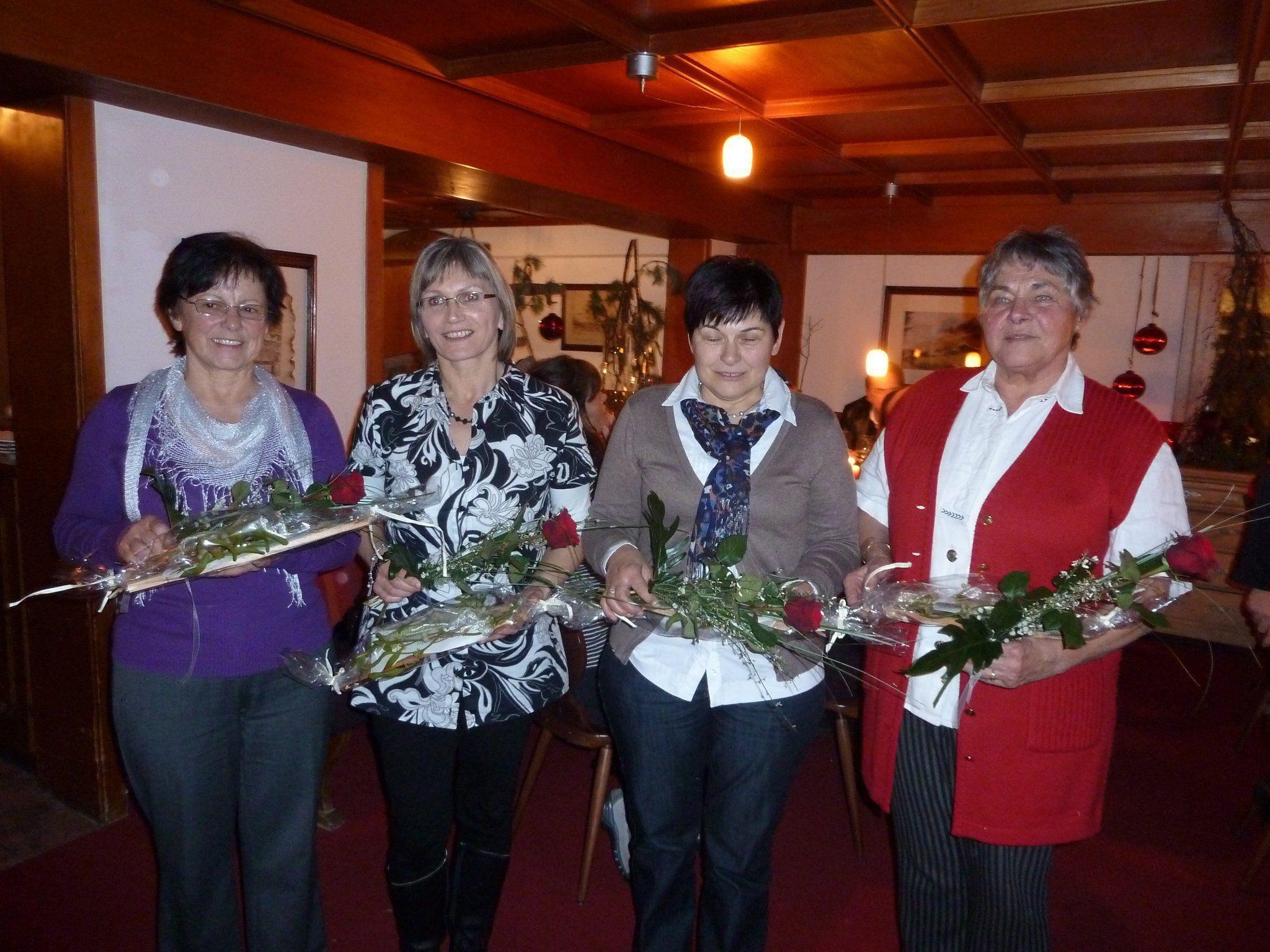 Diese fünf Damen sind bereits seit zehn Jahren für den mobilen Hilfsdienst im Einsatz.