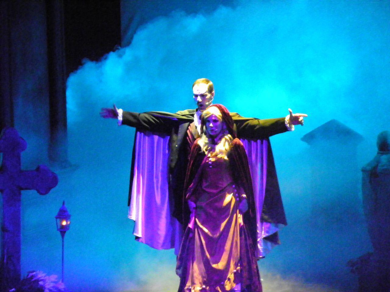 Begegnung Christines mit dem Phantom der Oper