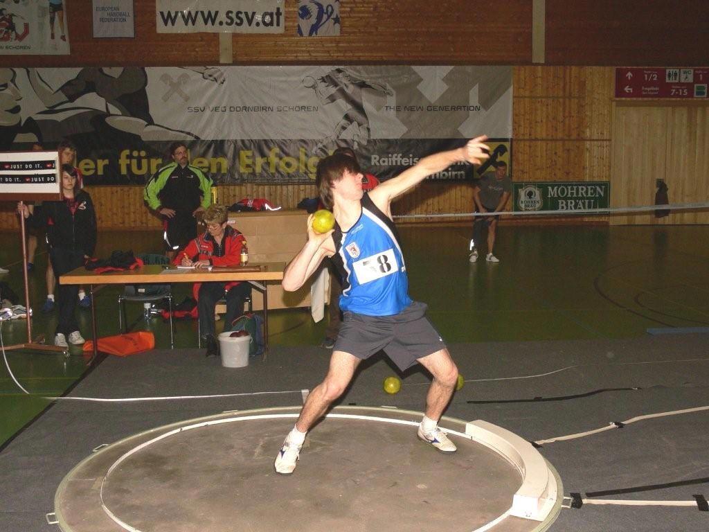 Am Sonntag werden die Landesmeisterschaften in der Halle ausgetragen.