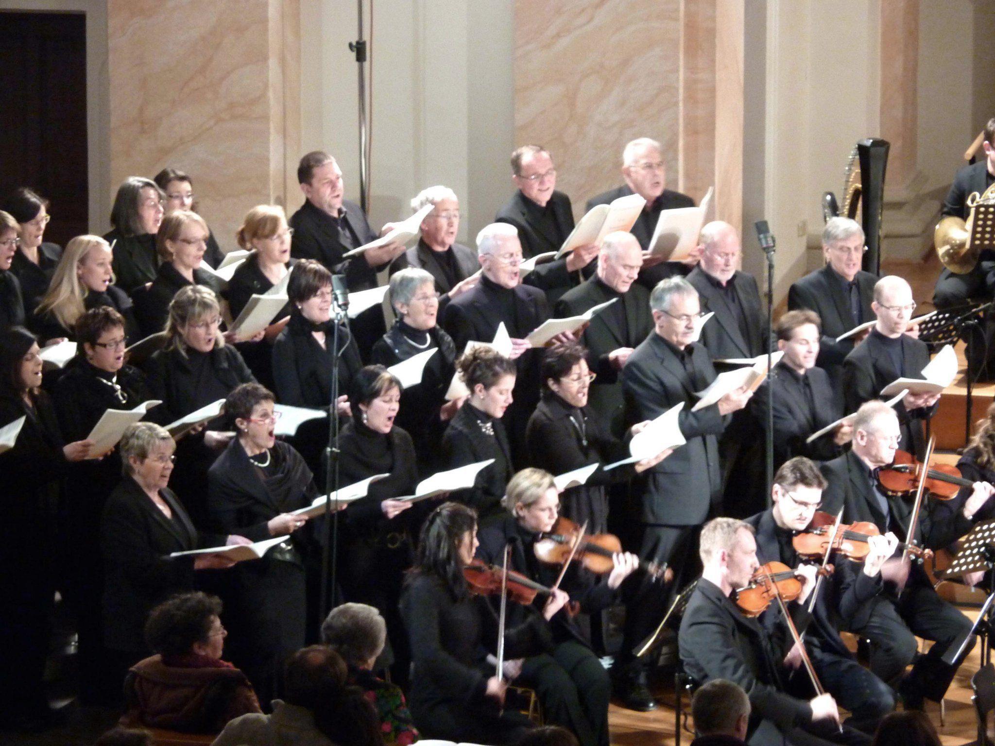 Die Chorakademie Vorarlberg lädt ein zum Antonin Dvorak Requiem.