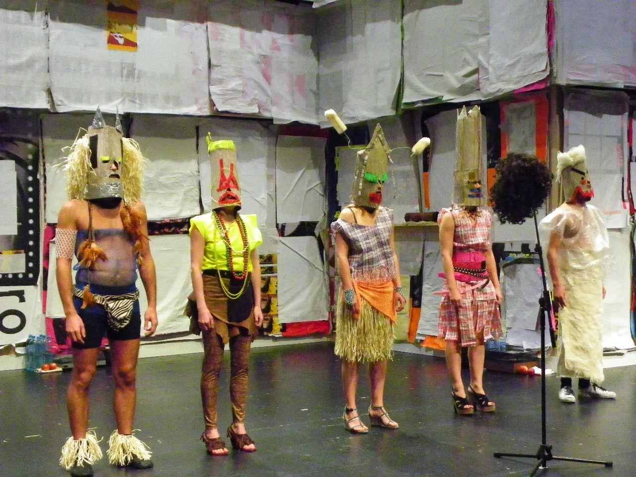 Theateraufführungen im Quartett