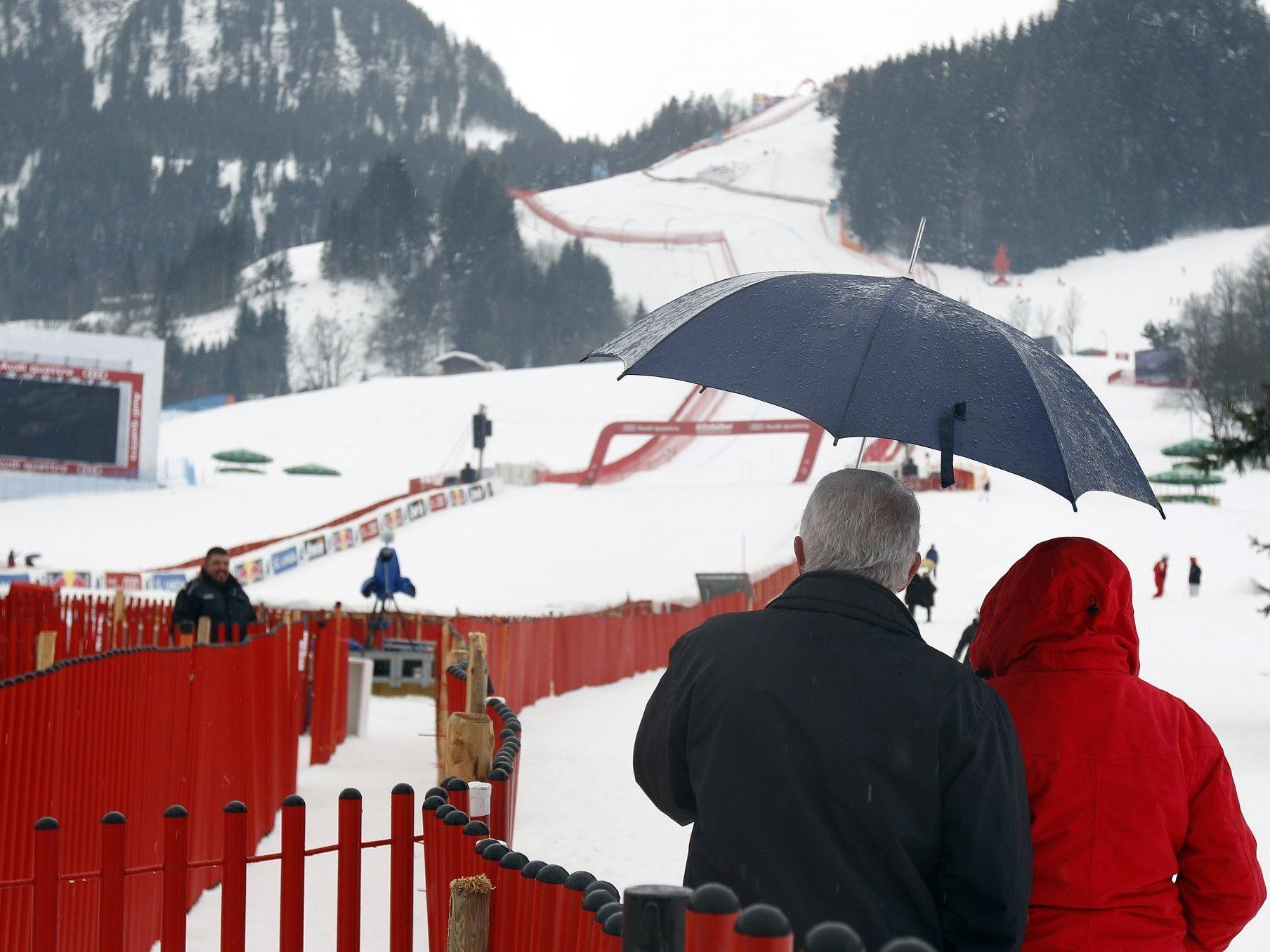 Der Weltcup-Super-G in Kitz wurde abgesagt.