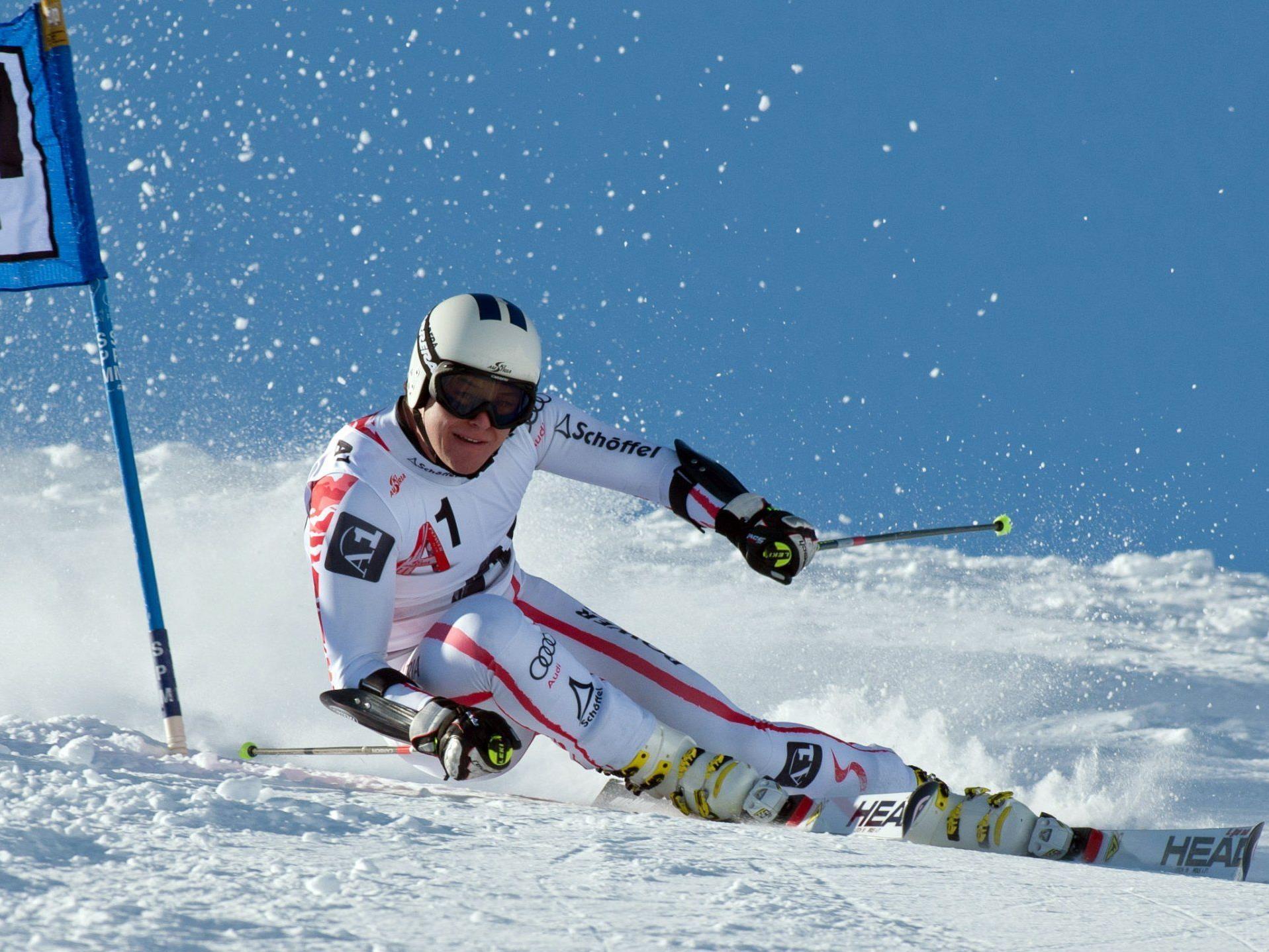 Bernhard Graf bekommt auf Vorarlberger Pisten den letzten Schliff vor den nächsten Weltcuprennen.