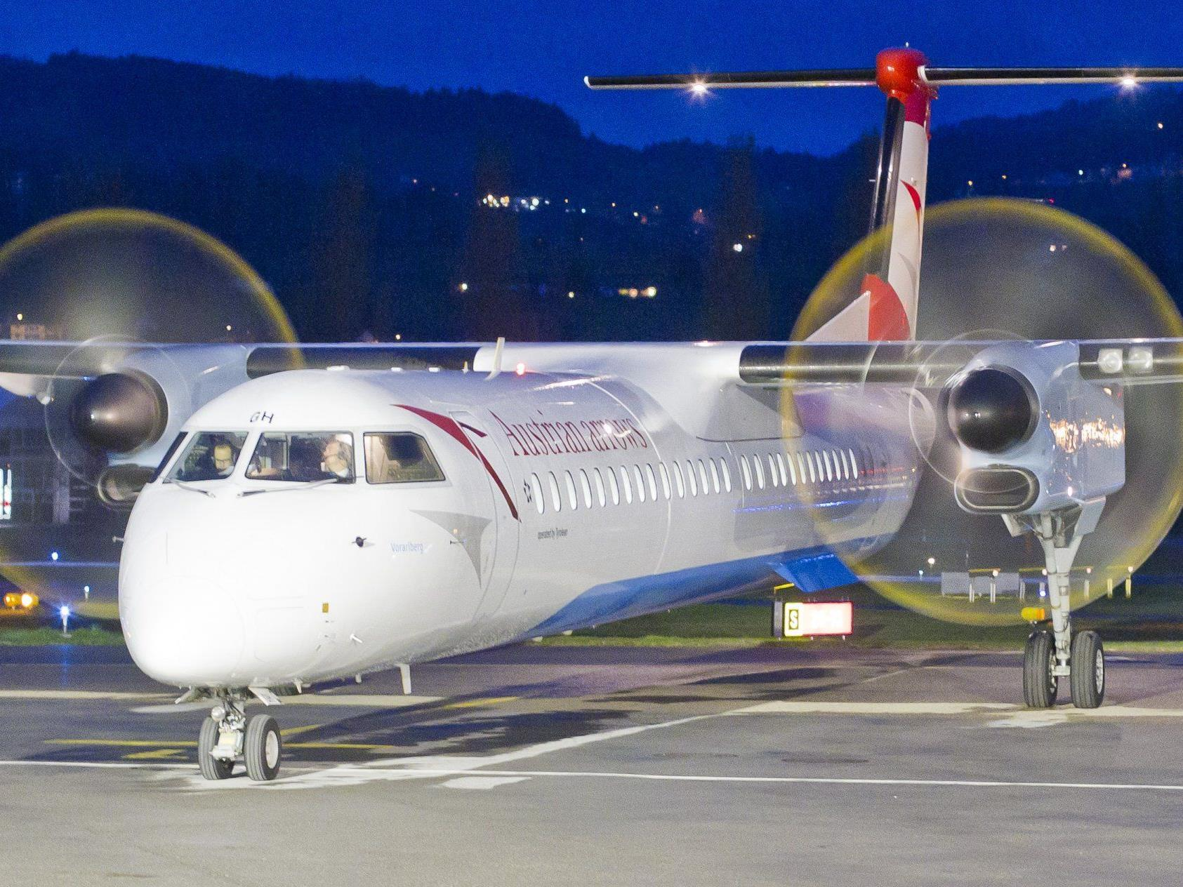 Flughafen Altenrhein: Laut Michael Braun, Pressesprecher der AUA, sind keine Einschränkungen geplant.