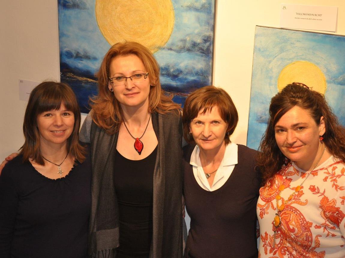 Christa-Maria Pock., Branka Kovacevics, Adelheid Pedevilla und Gabriele Mantovanis,