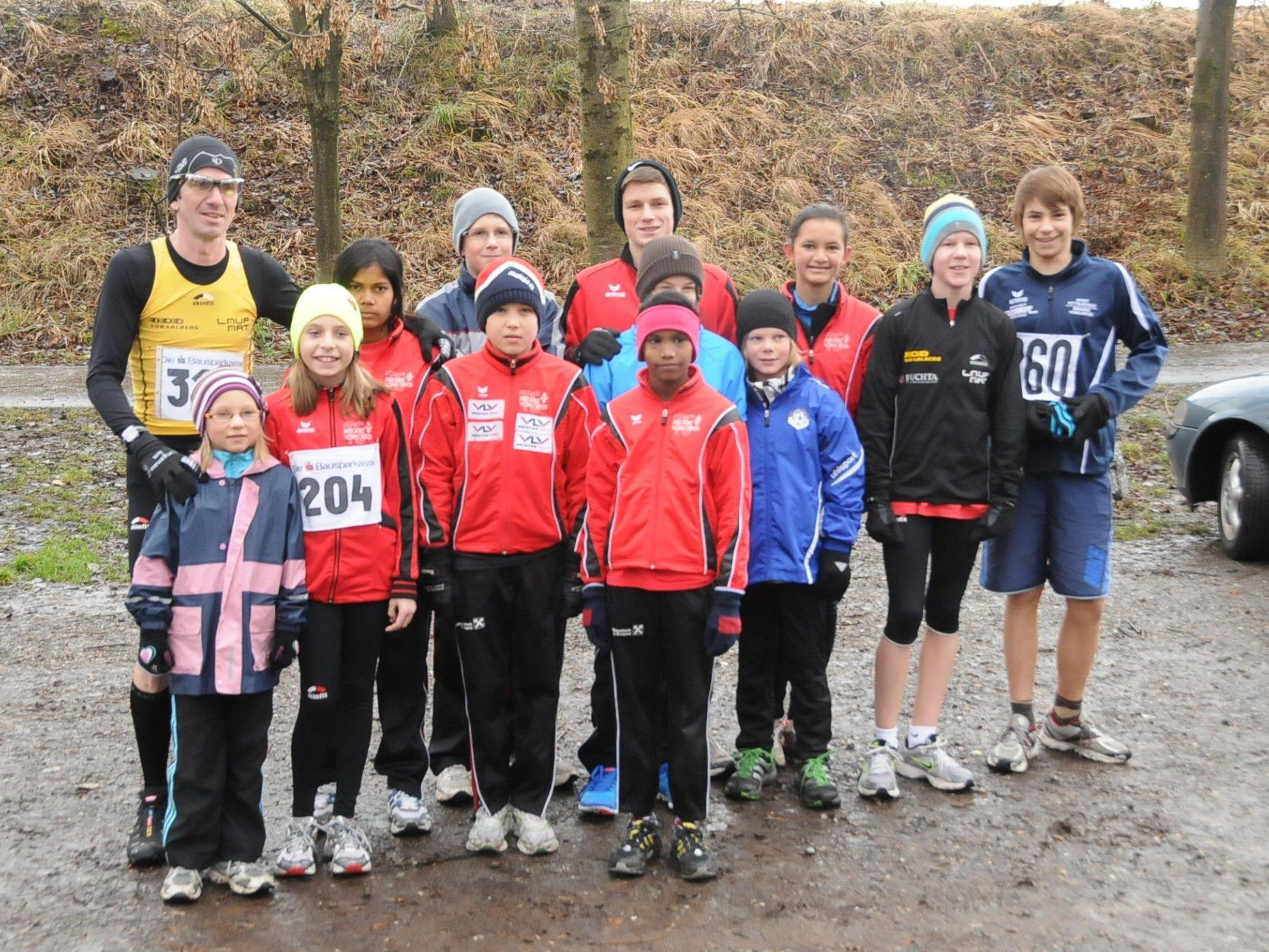 Trotz winterlichen Temperaturen stellten sich die Sportler dem Wettkampf.