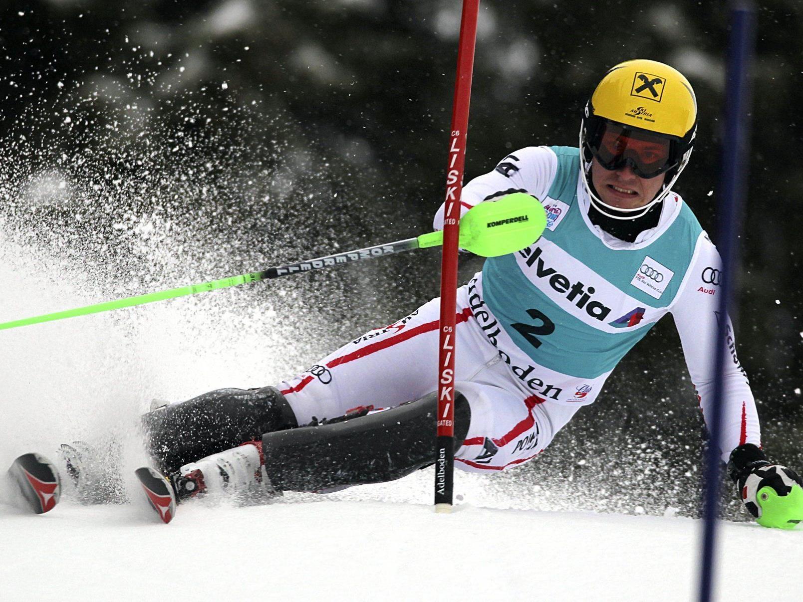 Marcel Hirscher konnte auch im Slalom alle hinter sich lassen.