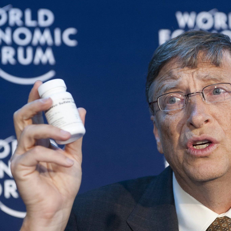 Bill Gates spendet 750 Millionen Dollar zur Krankheitsbekämpfung.